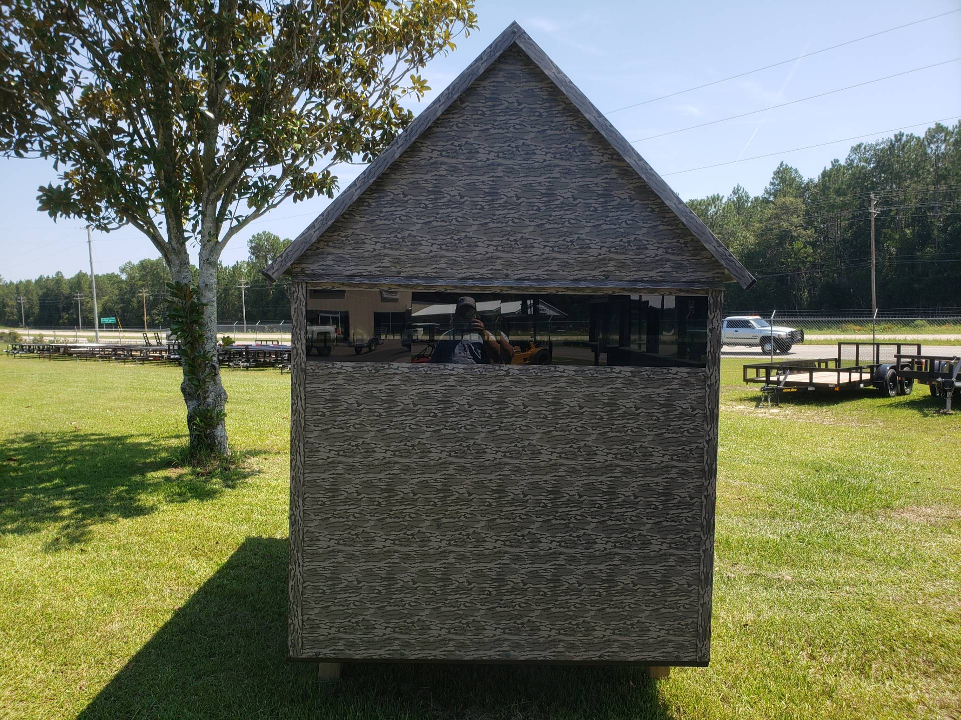 2020 The Antler Shed 5x8 Shooting House w/ Sliding Windows in Saucier, Mississippi - Photo 2
