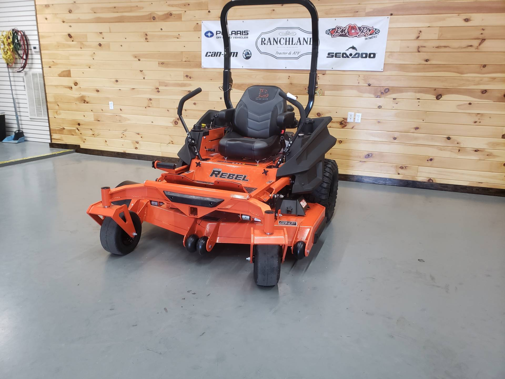 "2019 Bad Boy Mowers Rebel 54"" with 27hp Kawasaki in Saucier, Mississippi - Photo 1"