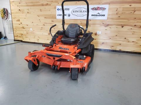"2019 Bad Boy Mowers Rebel 54"" with 27hp Kawasaki  in Saucier, Mississippi"