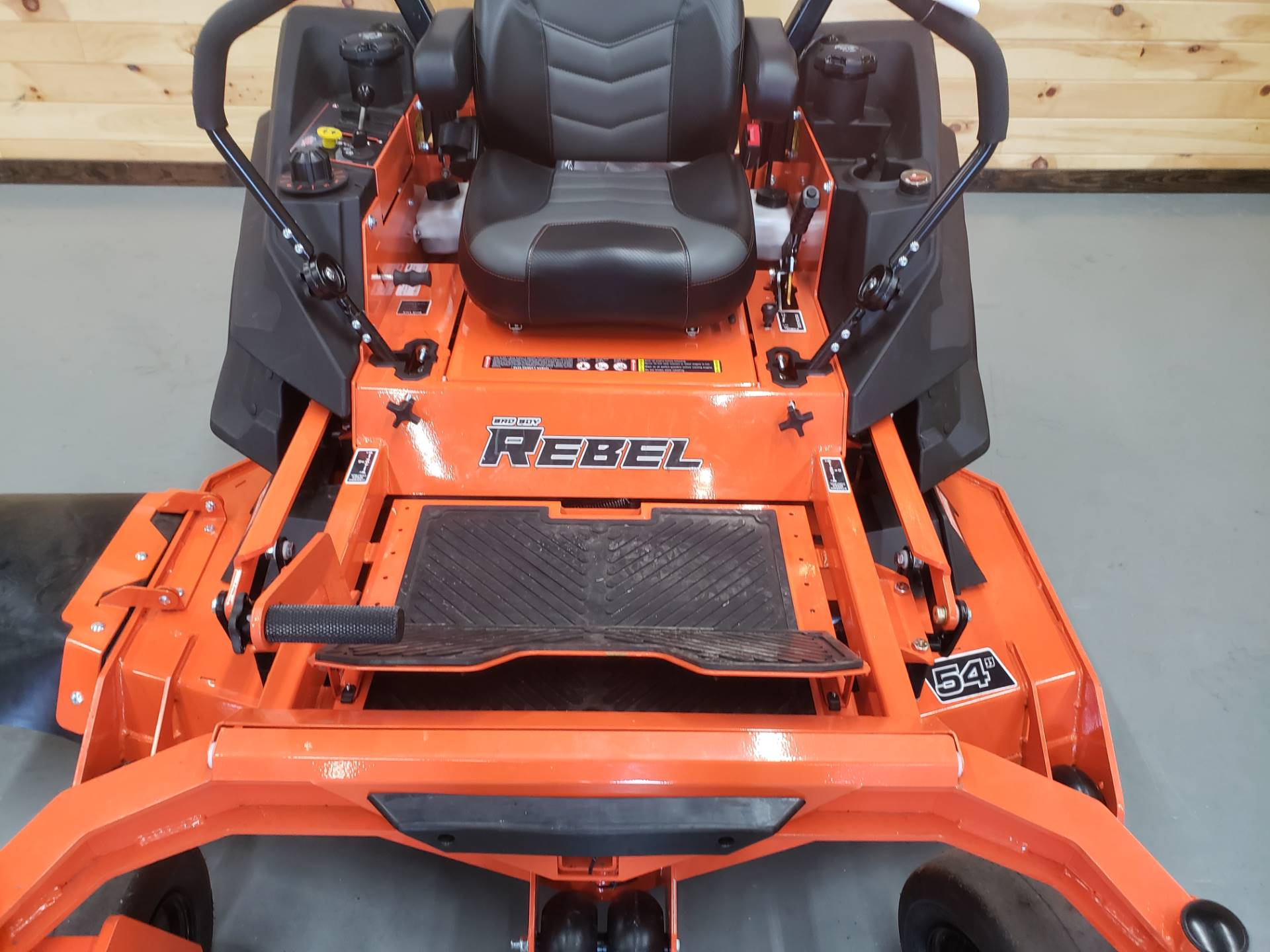 "2019 Bad Boy Mowers Rebel 54"" with 27hp Kawasaki in Saucier, Mississippi - Photo 5"