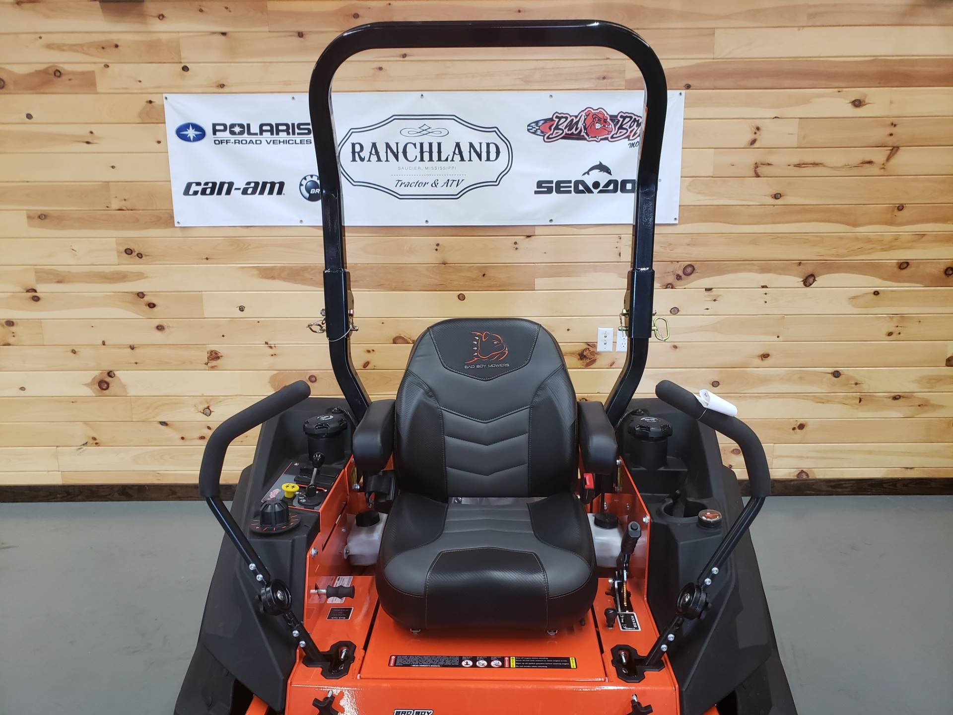 "2019 Bad Boy Mowers Rebel 54"" with 27hp Kawasaki in Saucier, Mississippi - Photo 6"