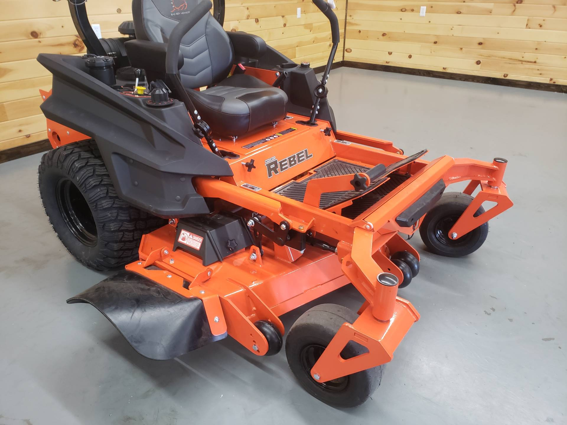 "2019 Bad Boy Mowers Rebel 54"" with 27hp Kawasaki in Saucier, Mississippi - Photo 8"