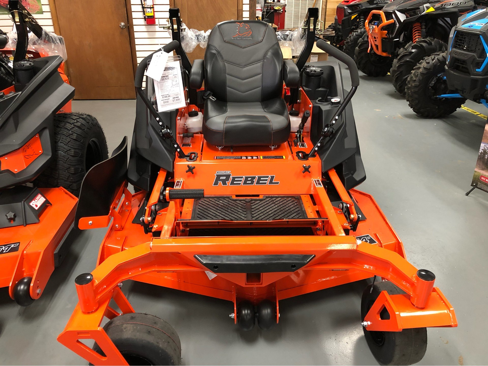 "2019 Bad Boy Mowers Rebel 54"" with 27hp Kawasaki  in Saucier, Mississippi - Photo 3"