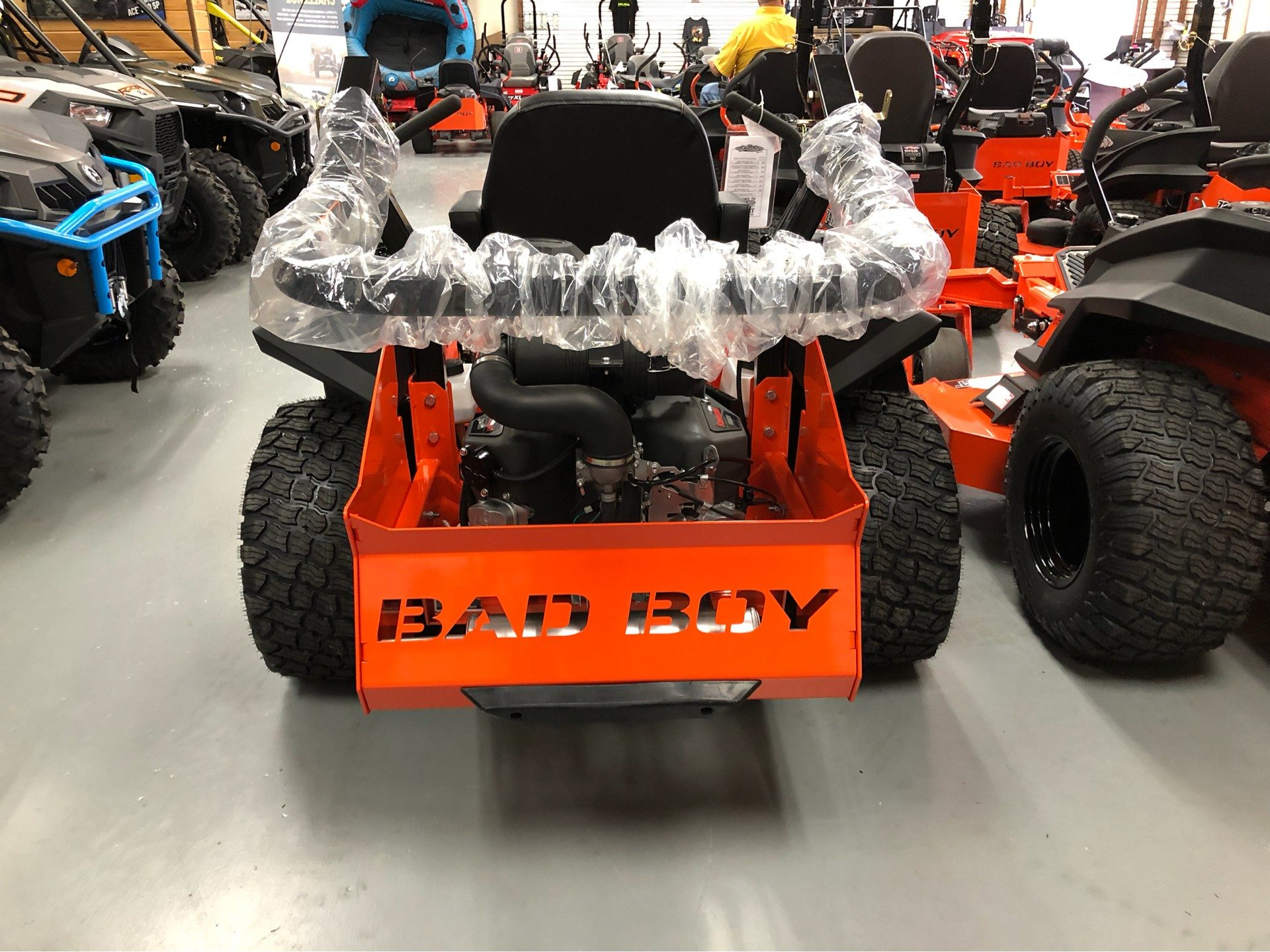 "2019 Bad Boy Mowers Rebel 54"" with 27hp Kawasaki  in Saucier, Mississippi - Photo 10"