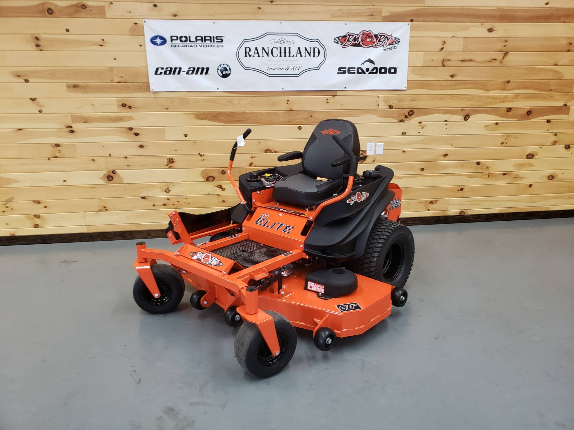 "2019 Bad Boy Mowers ZT Elite 60"" with Kawasaki FR730 in Saucier, Mississippi - Photo 1"