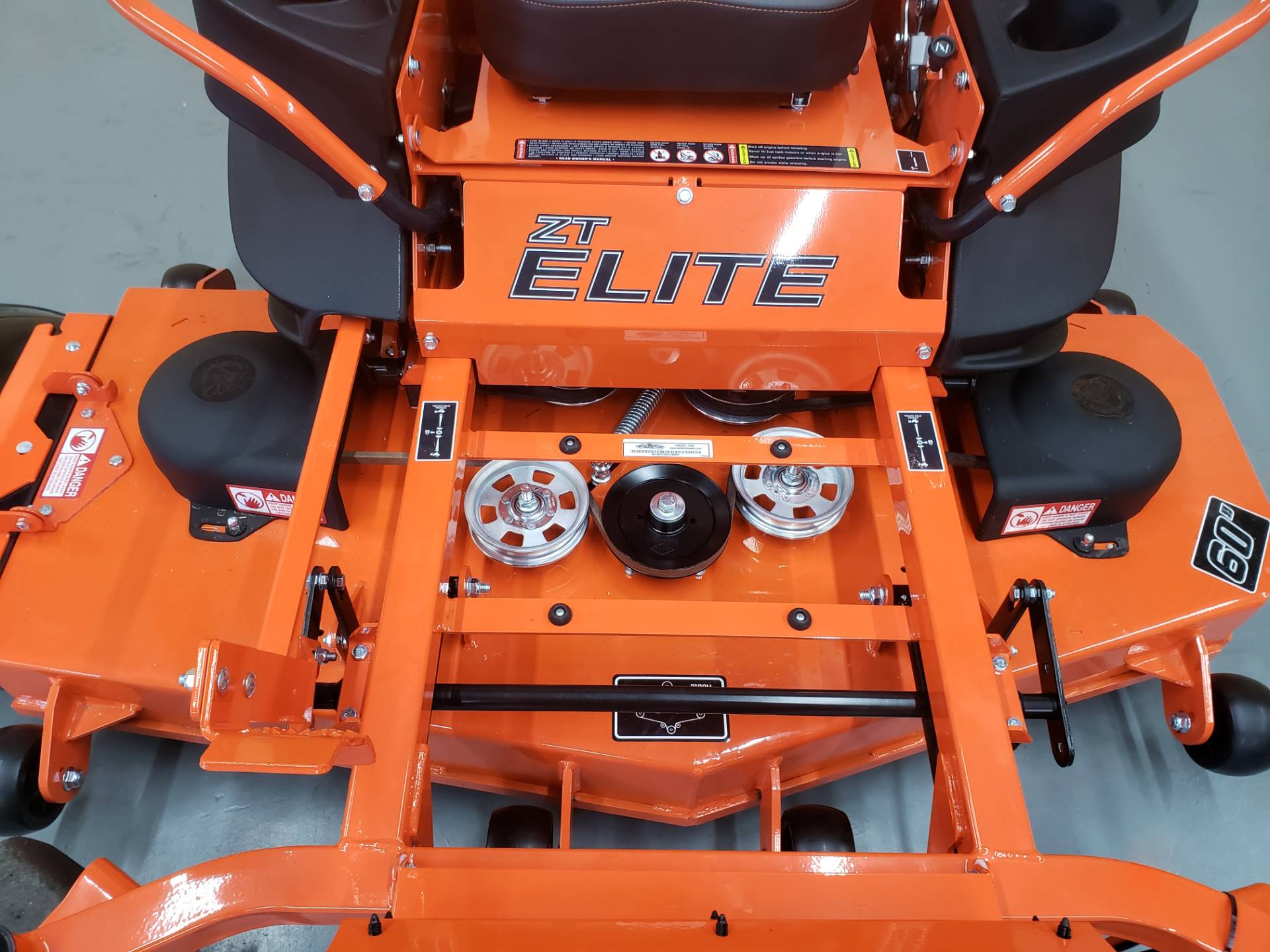 "2019 Bad Boy Mowers ZT Elite 60"" with Kawasaki FR730 in Saucier, Mississippi - Photo 6"