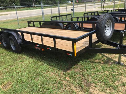 2017 Port City Trailers 18' Tube Top 10K SIR in Saucier, Mississippi