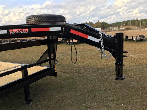 "2017 Port City Trailers 83"" x 24' Gooseneck 10K FUR in Saucier, Mississippi"