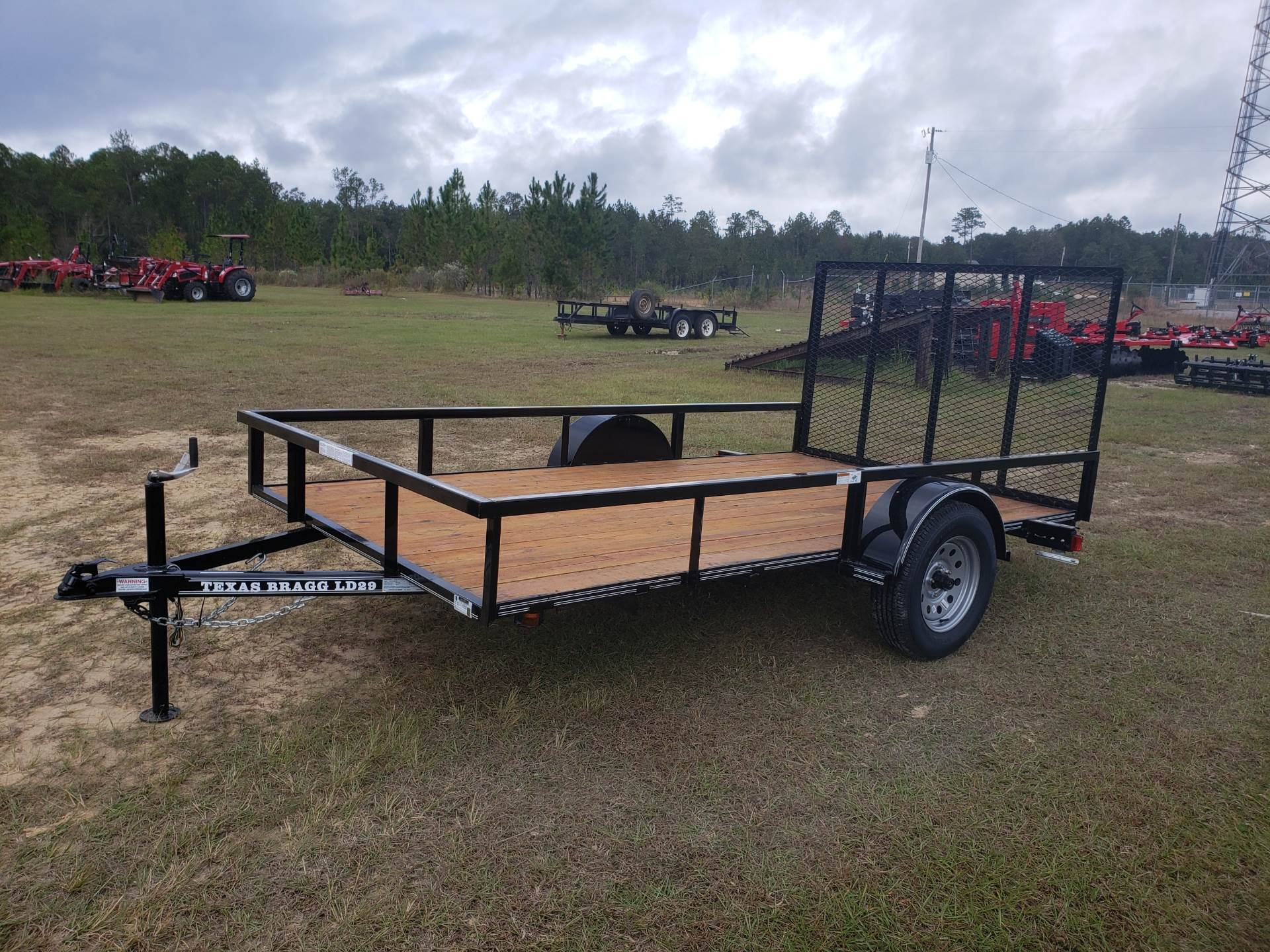 2019 Texas Bragg 6x12 LD with 4' Gate in Saucier, Mississippi - Photo 2