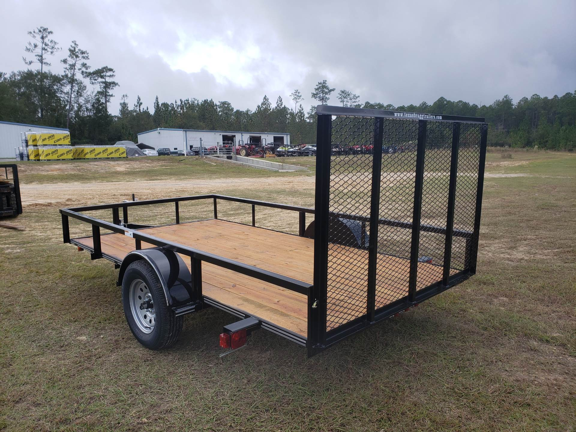 2019 Texas Bragg 6x12 LD with 4' Gate in Saucier, Mississippi - Photo 4