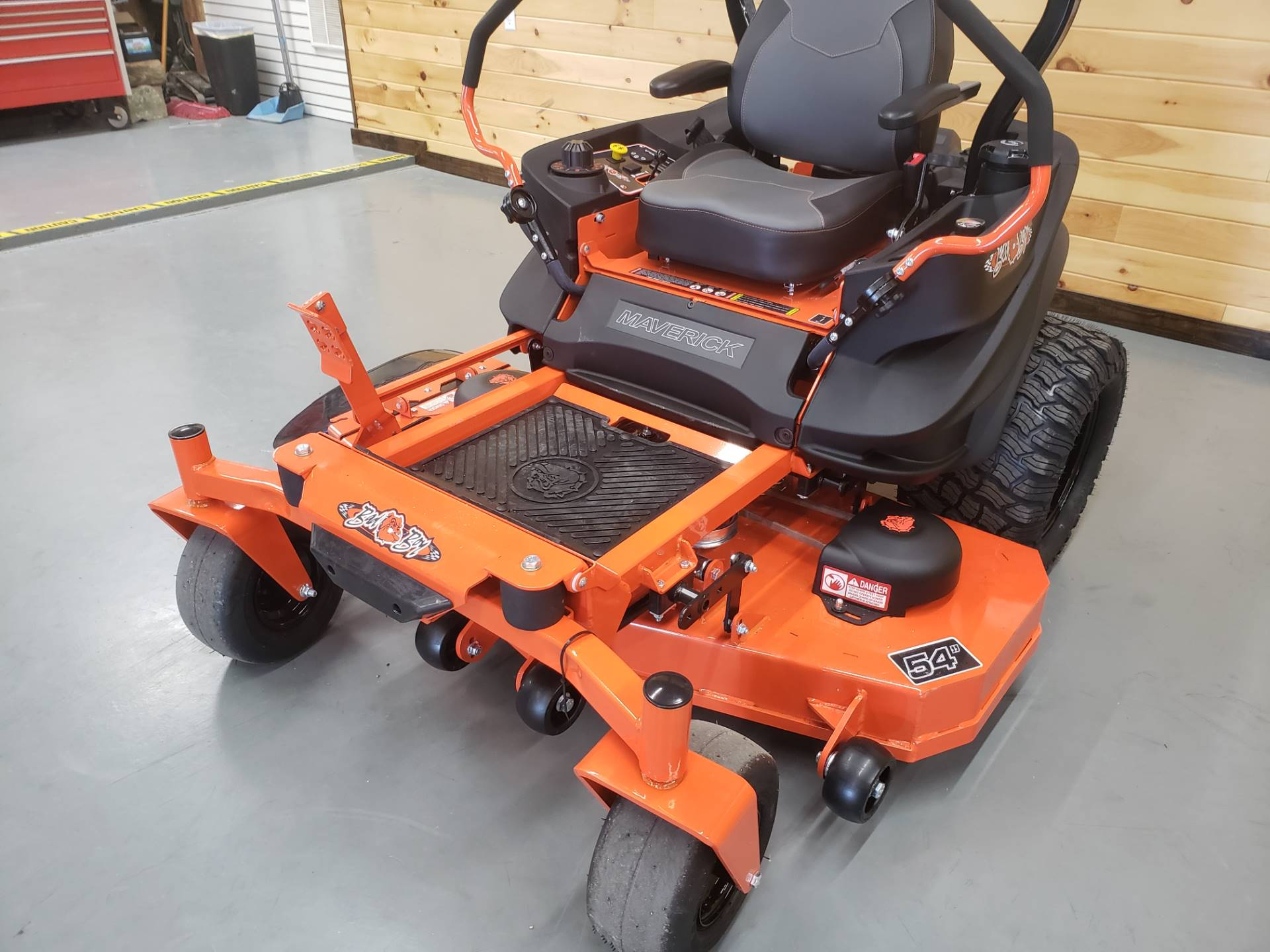 "2019 Bad Boy Mowers Maverick 54"" with Kawasaki FS730 in Saucier, Mississippi - Photo 2"