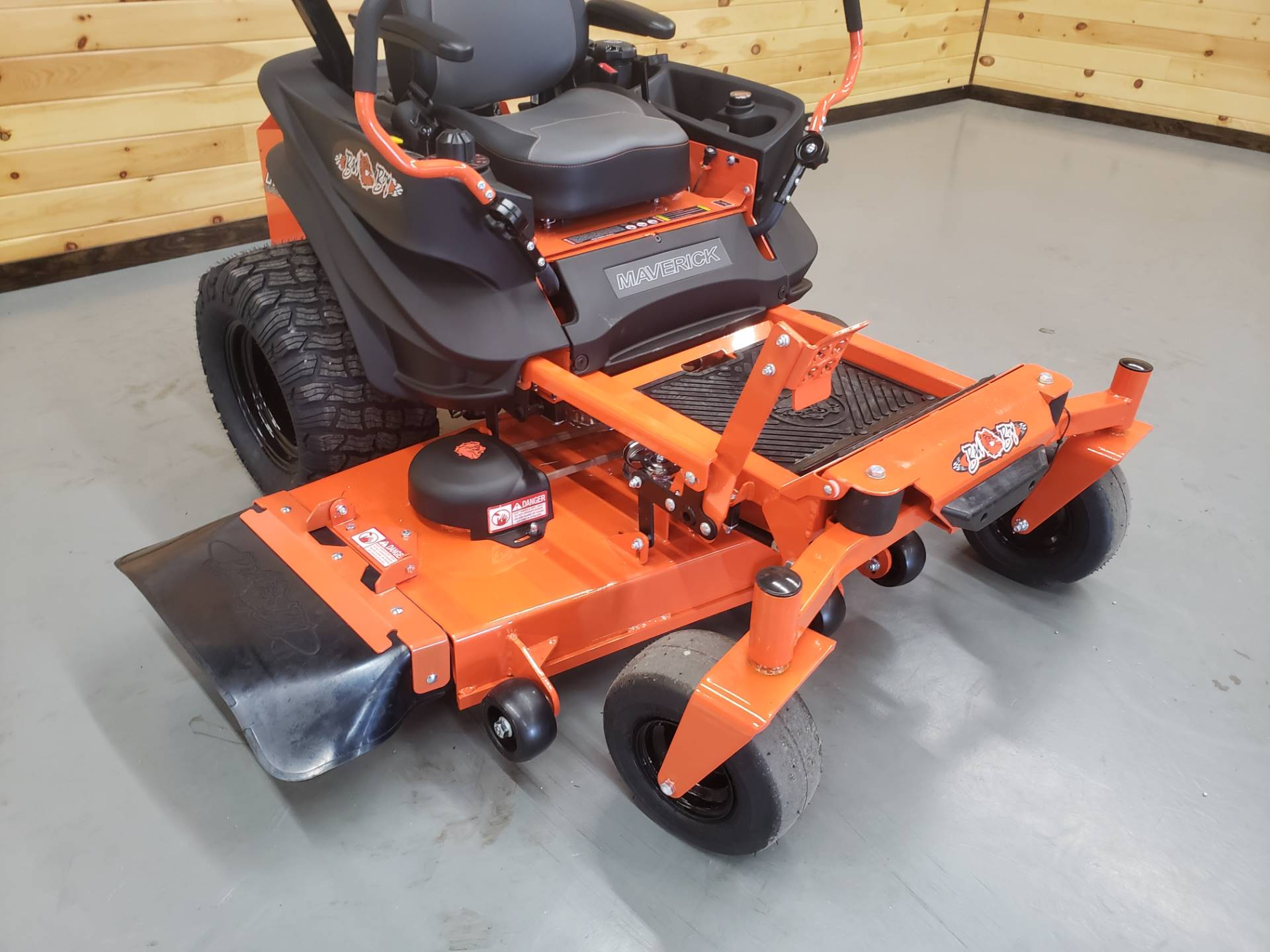"2019 Bad Boy Mowers Maverick 54"" with Kawasaki FS730 in Saucier, Mississippi - Photo 3"