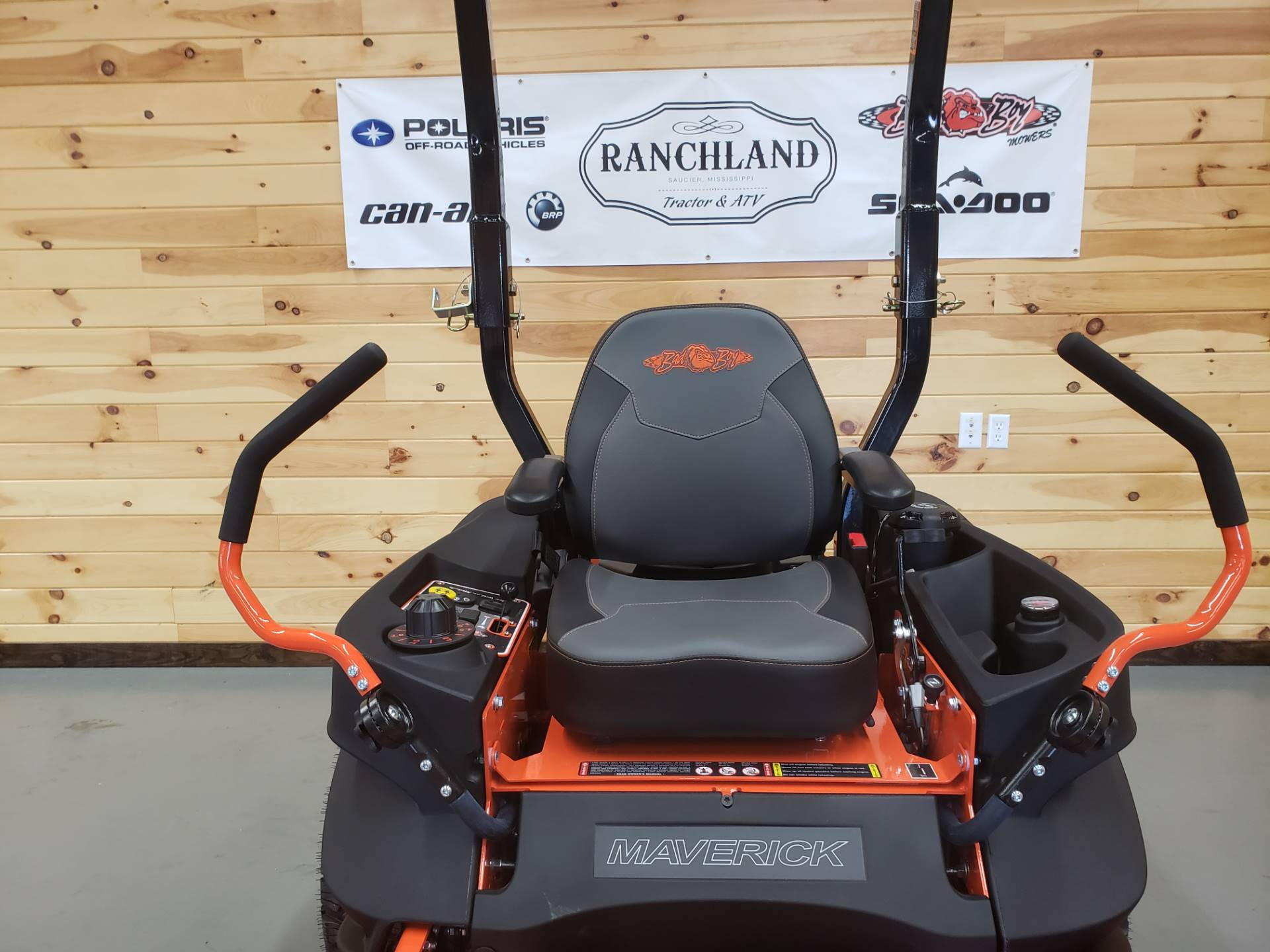 "2019 Bad Boy Mowers Maverick 54"" with Kawasaki FS730 in Saucier, Mississippi - Photo 4"