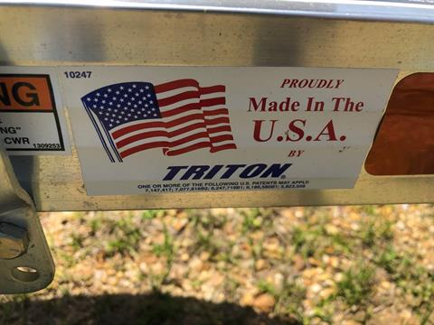 2019 Triton Trailers LTWCII in Saucier, Mississippi - Photo 8