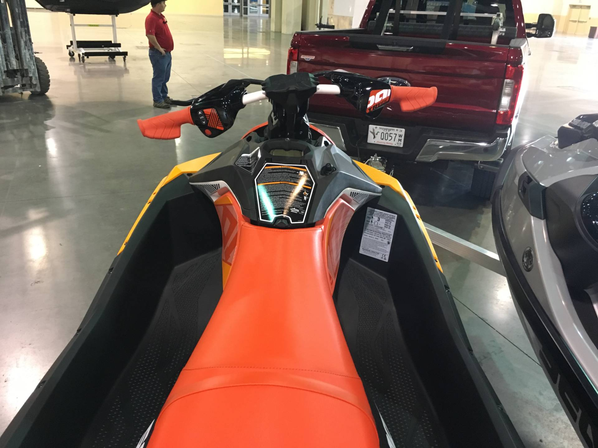 2018 Sea-Doo Spark 3up Trixx iBR in Saucier, Mississippi