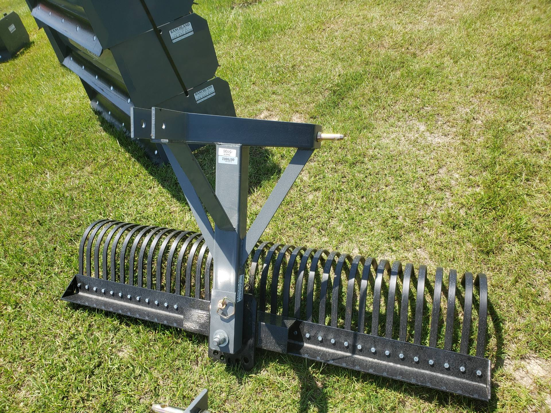 2020 Titan Implement 6' Rake in Saucier, Mississippi - Photo 1