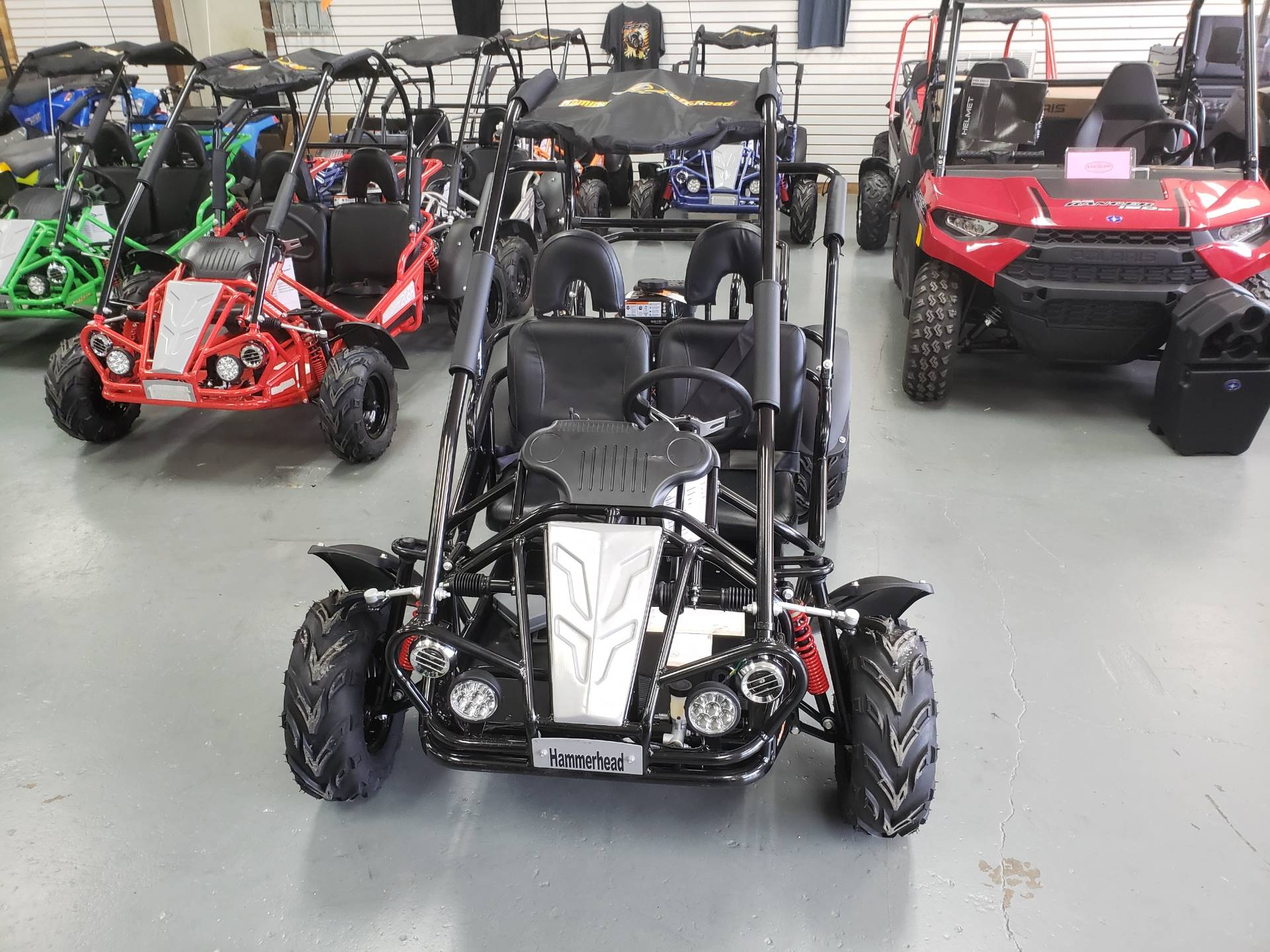 2019 Hammerhead Off-Road Mudhead 208R - Black in Saucier, Mississippi - Photo 2