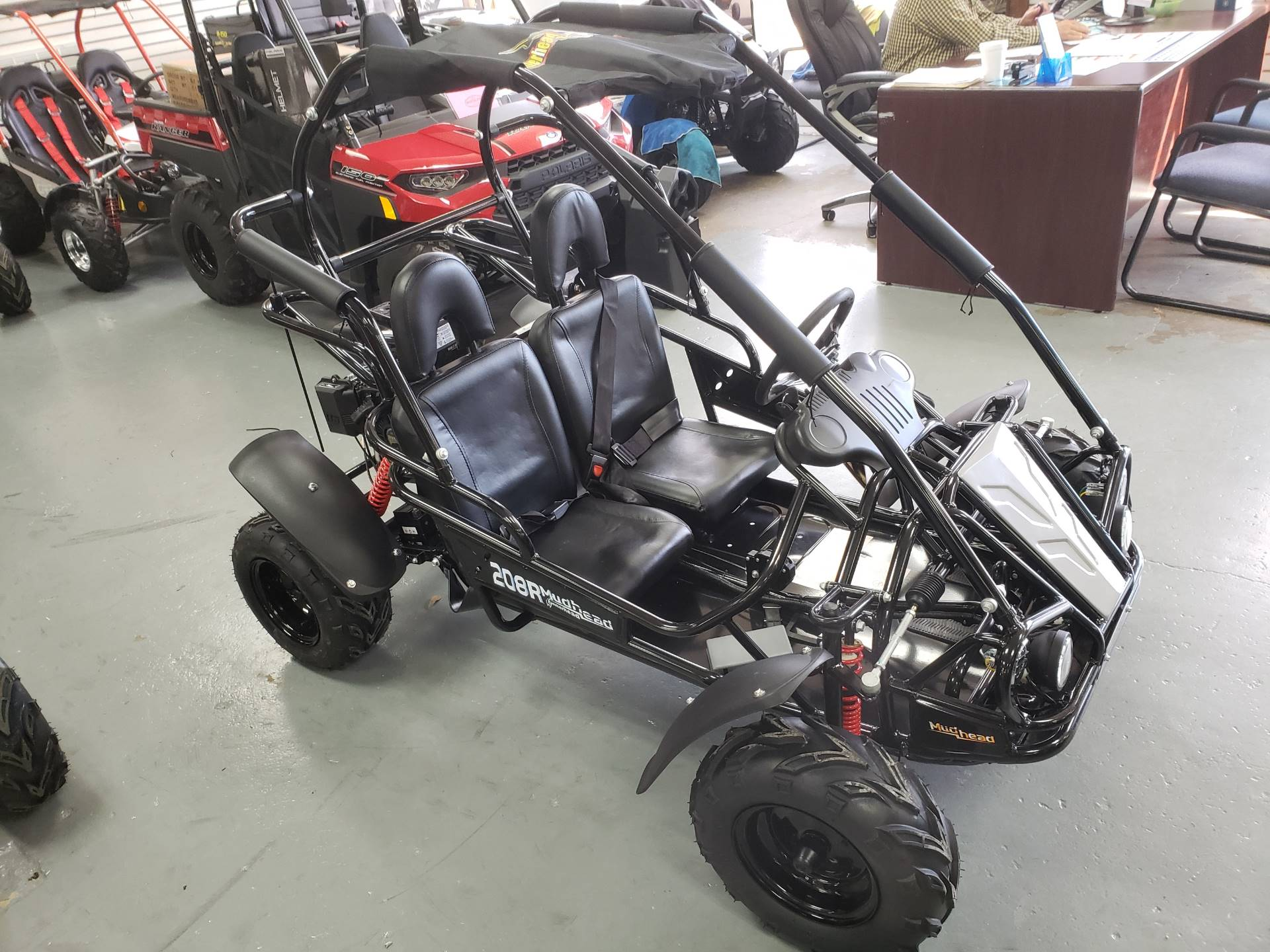 2019 Hammerhead Off-Road Mudhead 208R - Black in Saucier, Mississippi - Photo 3