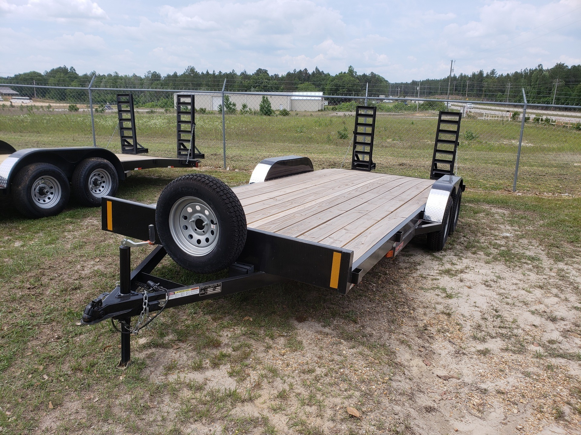 "2017 Port City Trailers 83"" x 20' Equip Hauler 7K SIR in Saucier, Mississippi"