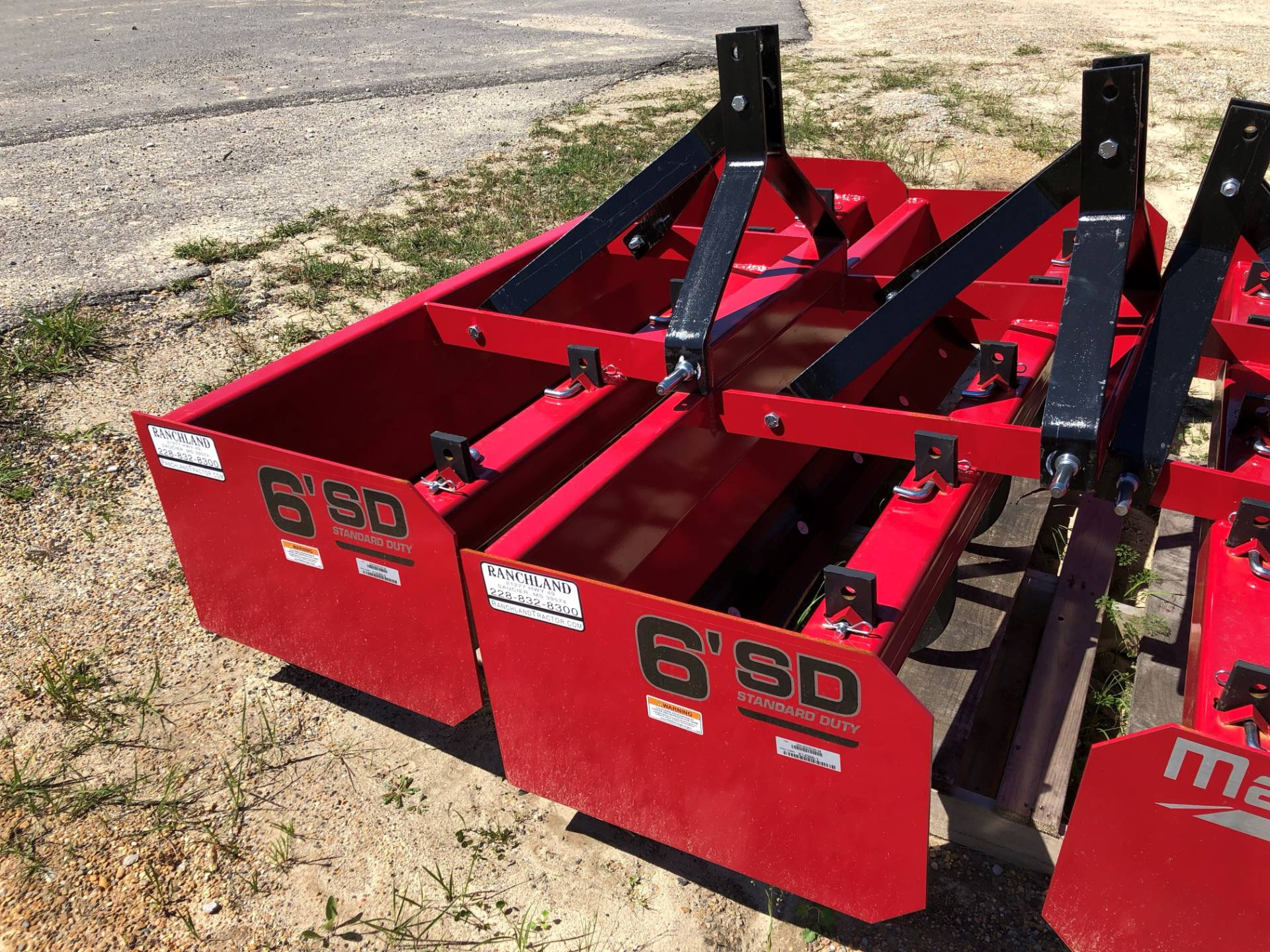 2019 Mahindra 6' Box Blade in Saucier, Mississippi - Photo 1