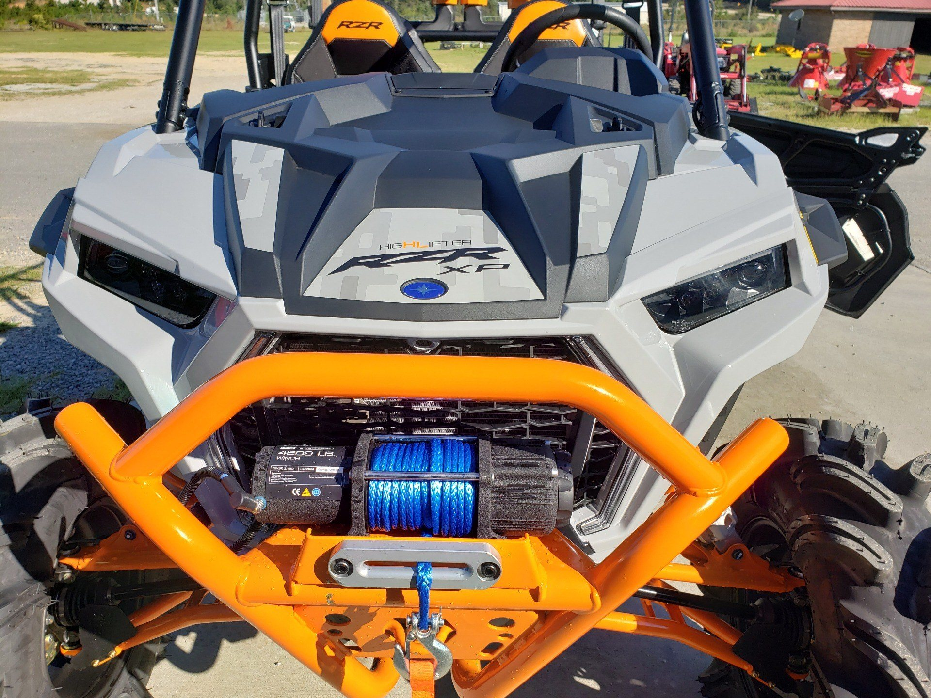 2021 Polaris RZR XP 4 1000 High Lifter in Saucier, Mississippi - Photo 11