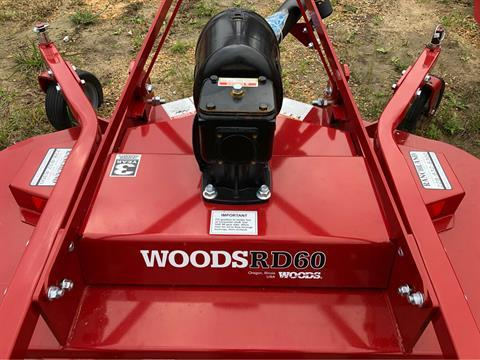 2019 Woods RD60V Finish Mower in Saucier, Mississippi