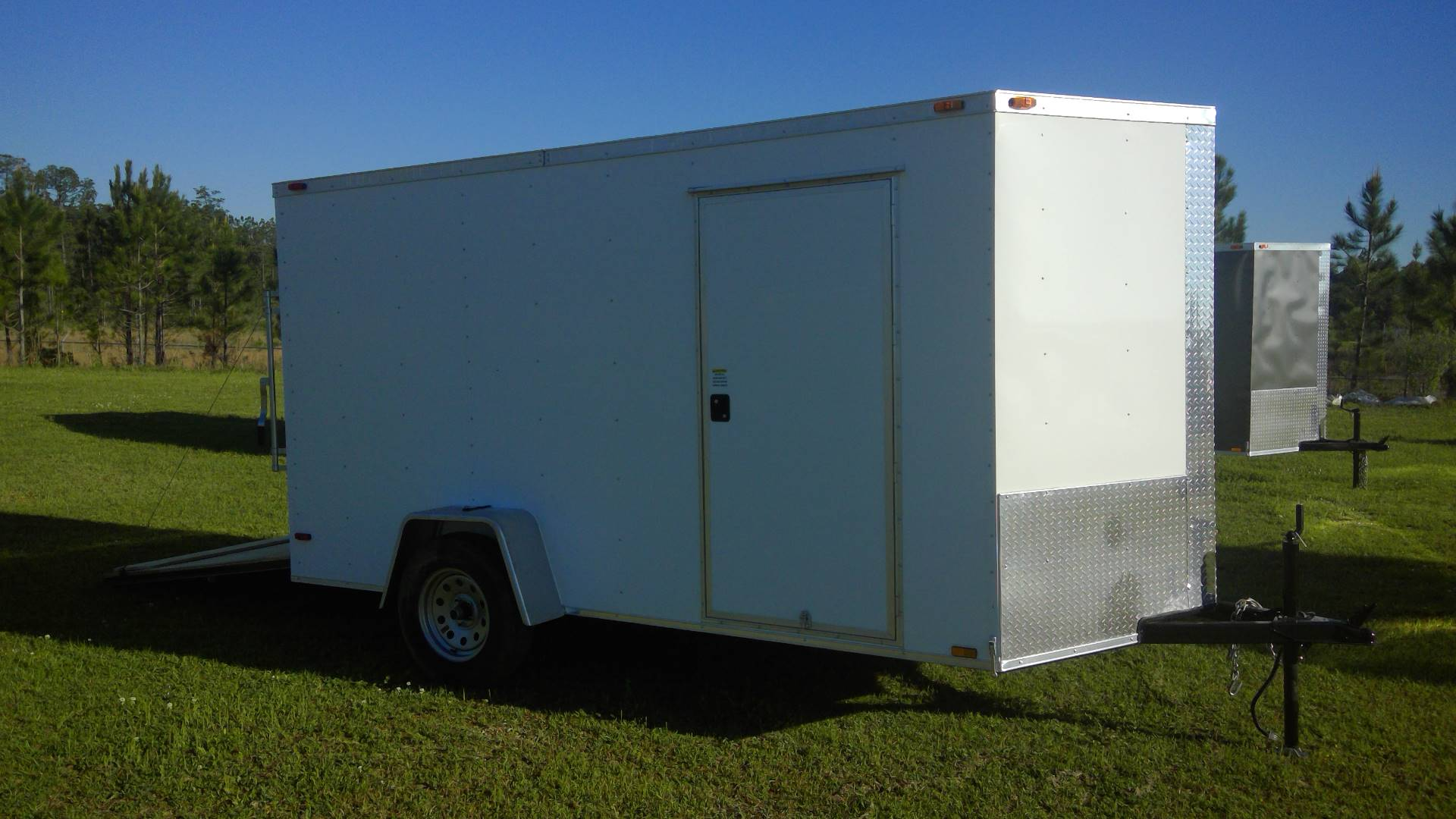 2017 Triple R Trailers 6x12 SA Cargo White in Saucier, Mississippi