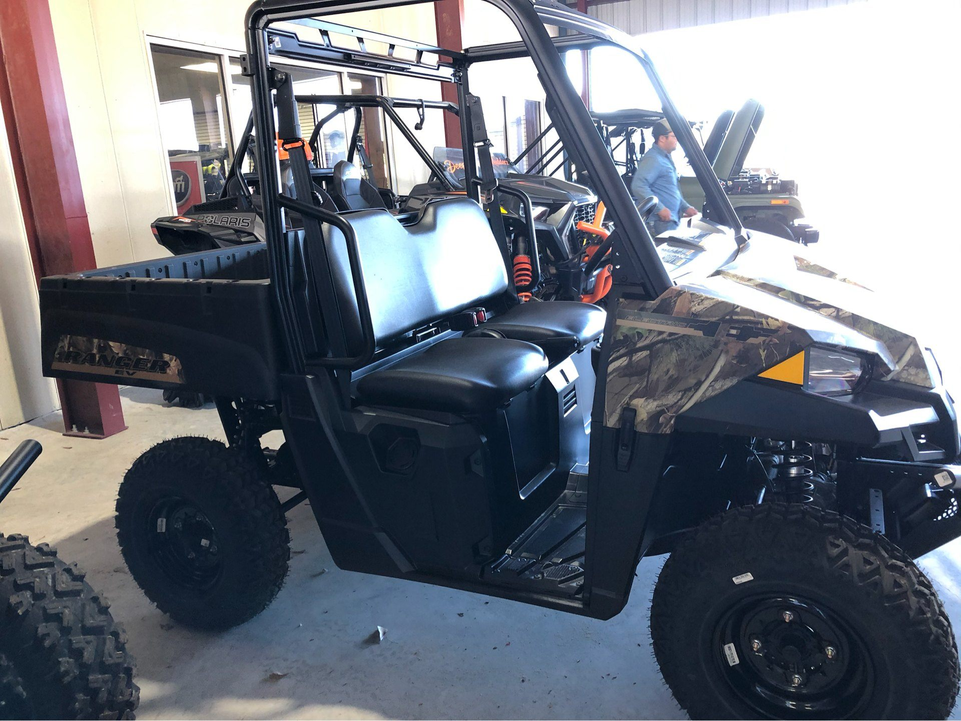 2020 Polaris Ranger EV in Saucier, Mississippi - Photo 4