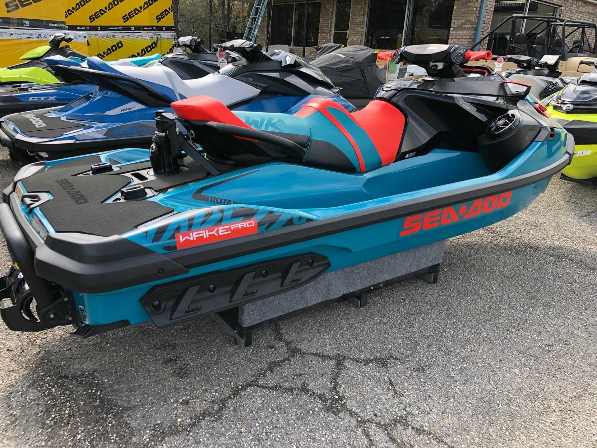 2019 Sea-Doo WAKE Pro 230 iBR + Sound System in Saucier, Mississippi - Photo 1