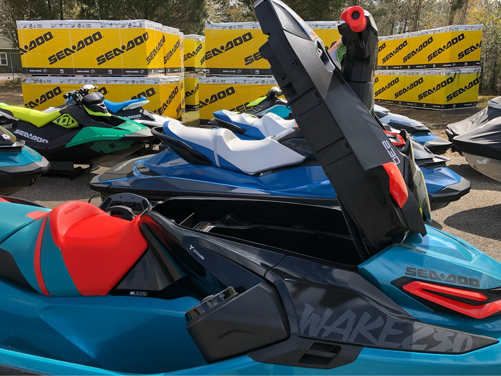 2019 Sea-Doo WAKE Pro 230 iBR + Sound System in Saucier, Mississippi - Photo 9