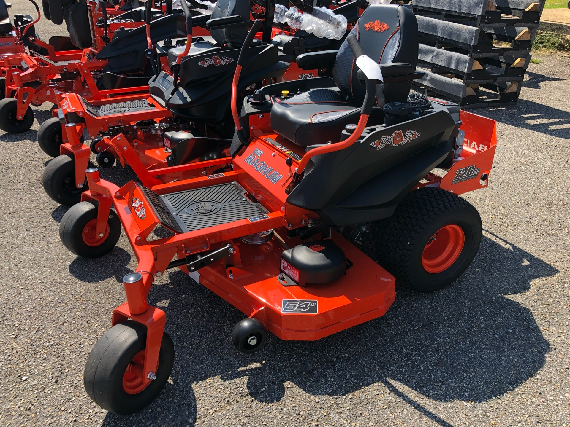 "2019 Bad Boy Mowers MZ Magnum 54"" with Kawasaki FR651 in Saucier, Mississippi - Photo 1"