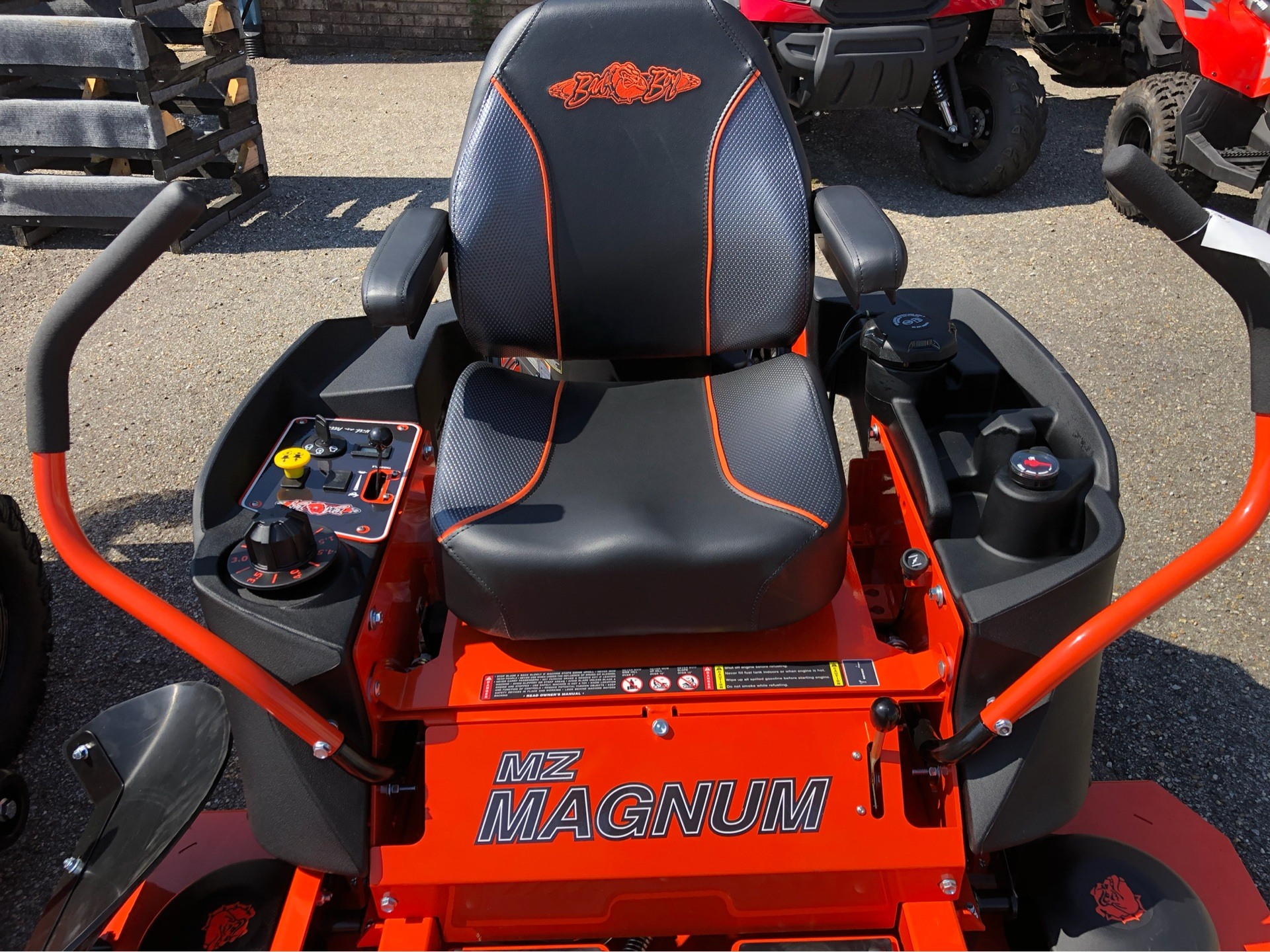 "2019 Bad Boy Mowers MZ Magnum 54"" with Kawasaki FR651 in Saucier, Mississippi - Photo 3"