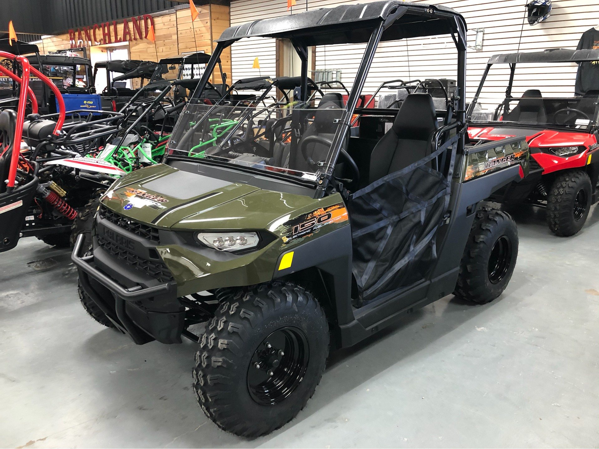 2020 Polaris Ranger 150 EFI in Saucier, Mississippi - Photo 1