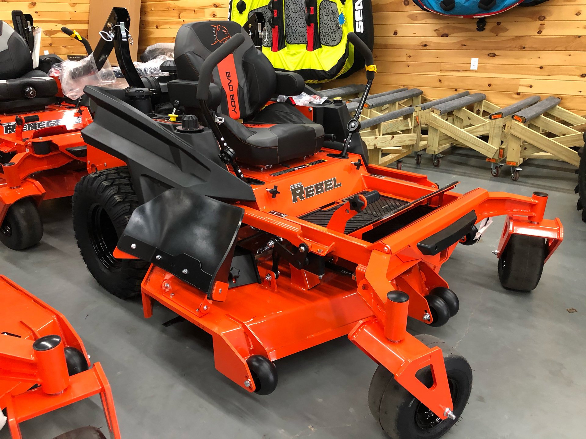 2021 Bad Boy Mowers Rebel 61 in. Kawasaki FX 27 hp in Saucier, Mississippi - Photo 1