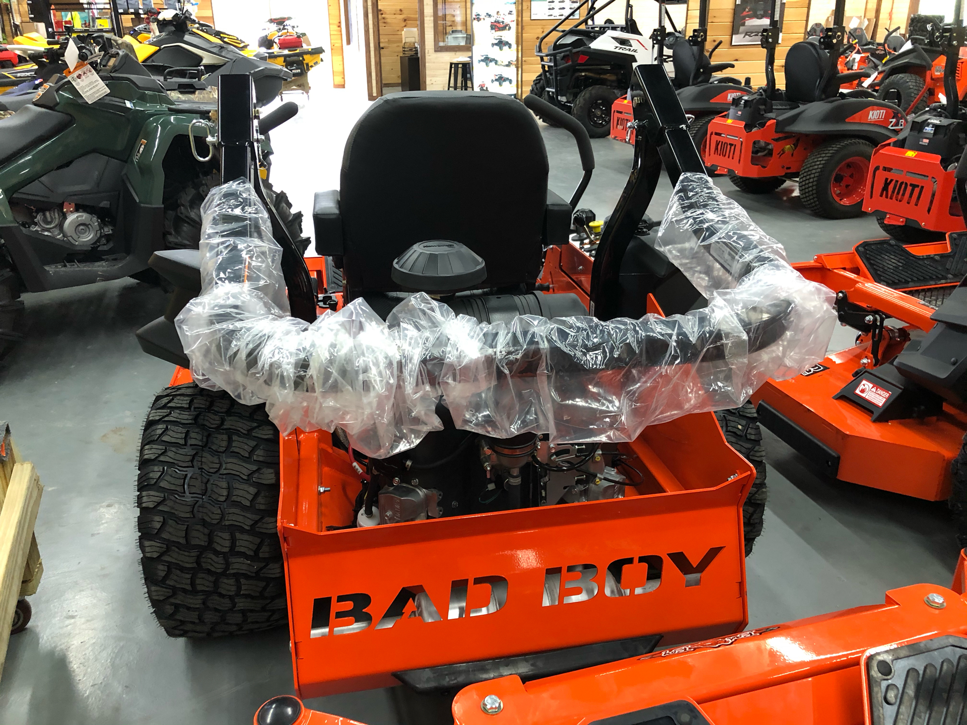 2021 Bad Boy Mowers Rebel 61 in. Kawasaki FX 27 hp in Saucier, Mississippi - Photo 8