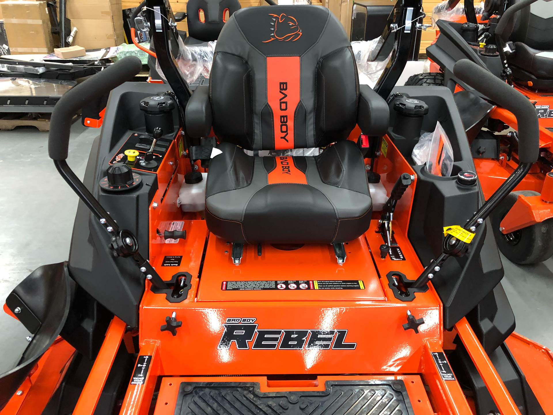 2021 Bad Boy Mowers Rebel 61 in. Kawasaki FX 27 hp in Saucier, Mississippi - Photo 2
