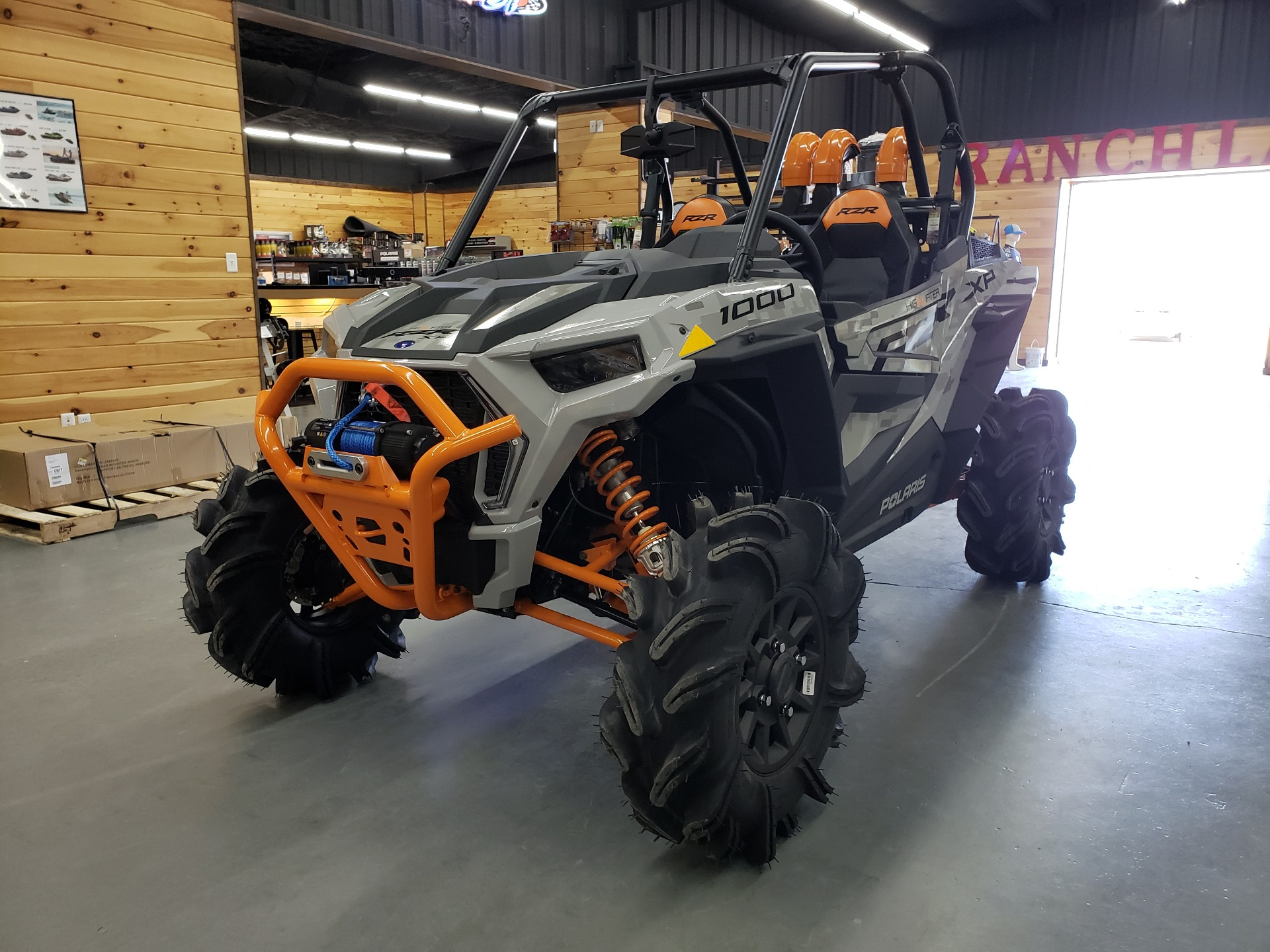 2021 Polaris RZR XP 1000 High Lifter in Saucier, Mississippi - Photo 1