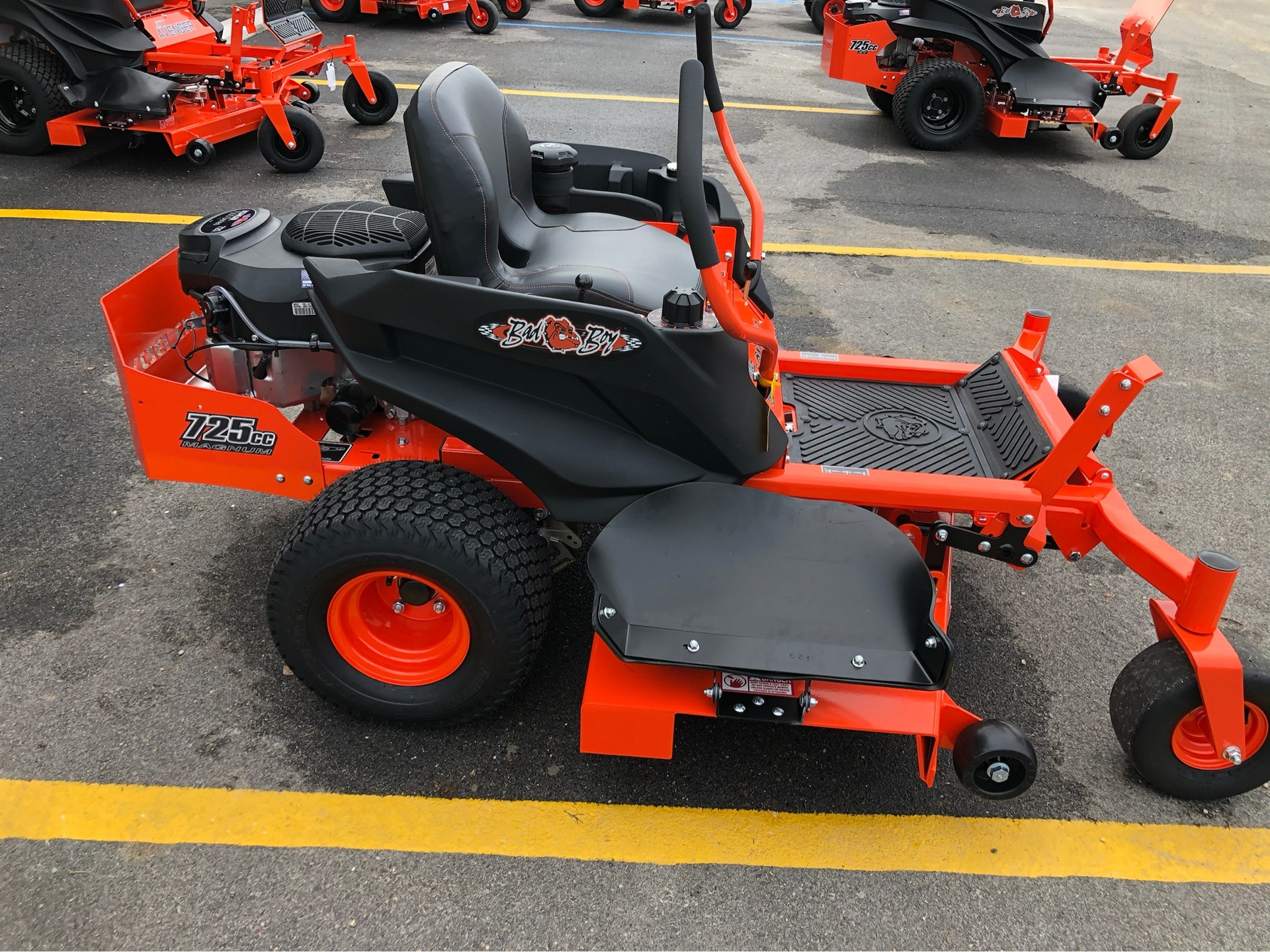 2020 Bad Boy Mowers MZ Magnum 54 in. Kohler Pro 7000 725 cc in Saucier, Mississippi - Photo 10