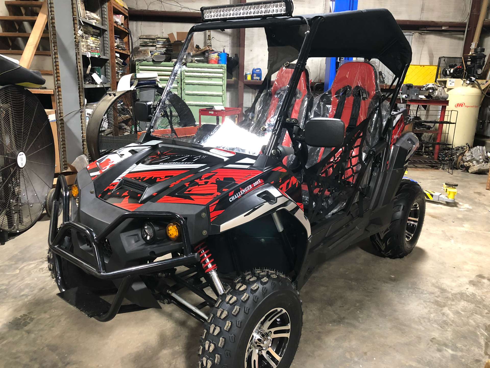 2021 Trail Master Off Road Challenger 200X Deluxe in Saucier, Mississippi - Photo 1