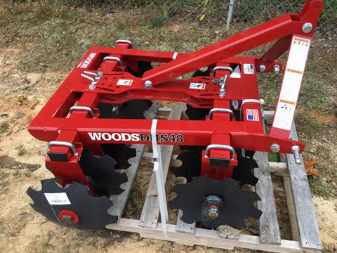 "2017 Woods DHS48N, 48"" Disc in Saucier, Mississippi"
