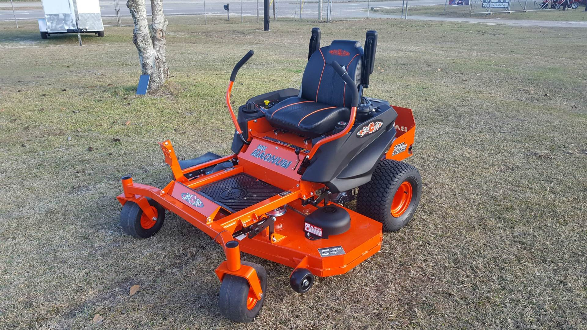 "2018 Bad Boy Mowers MZ Magnum 54"" Kawasaki - BMZ54FR651 in Saucier, Mississippi"