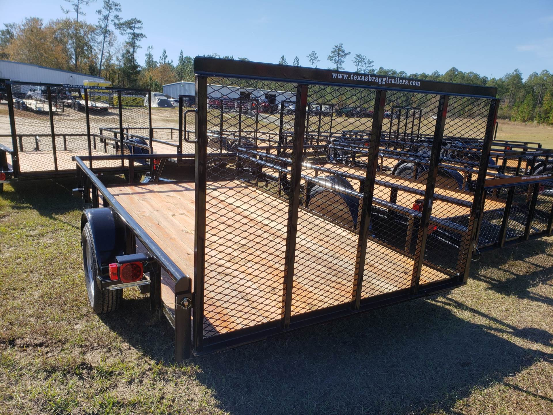 2019 Texas Bragg 6x12P, 4' Gate in Saucier, Mississippi