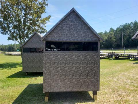 2022 The Antler Shed 5x6 Shooting House w/ Sliding Windows in Saucier, Mississippi - Photo 2