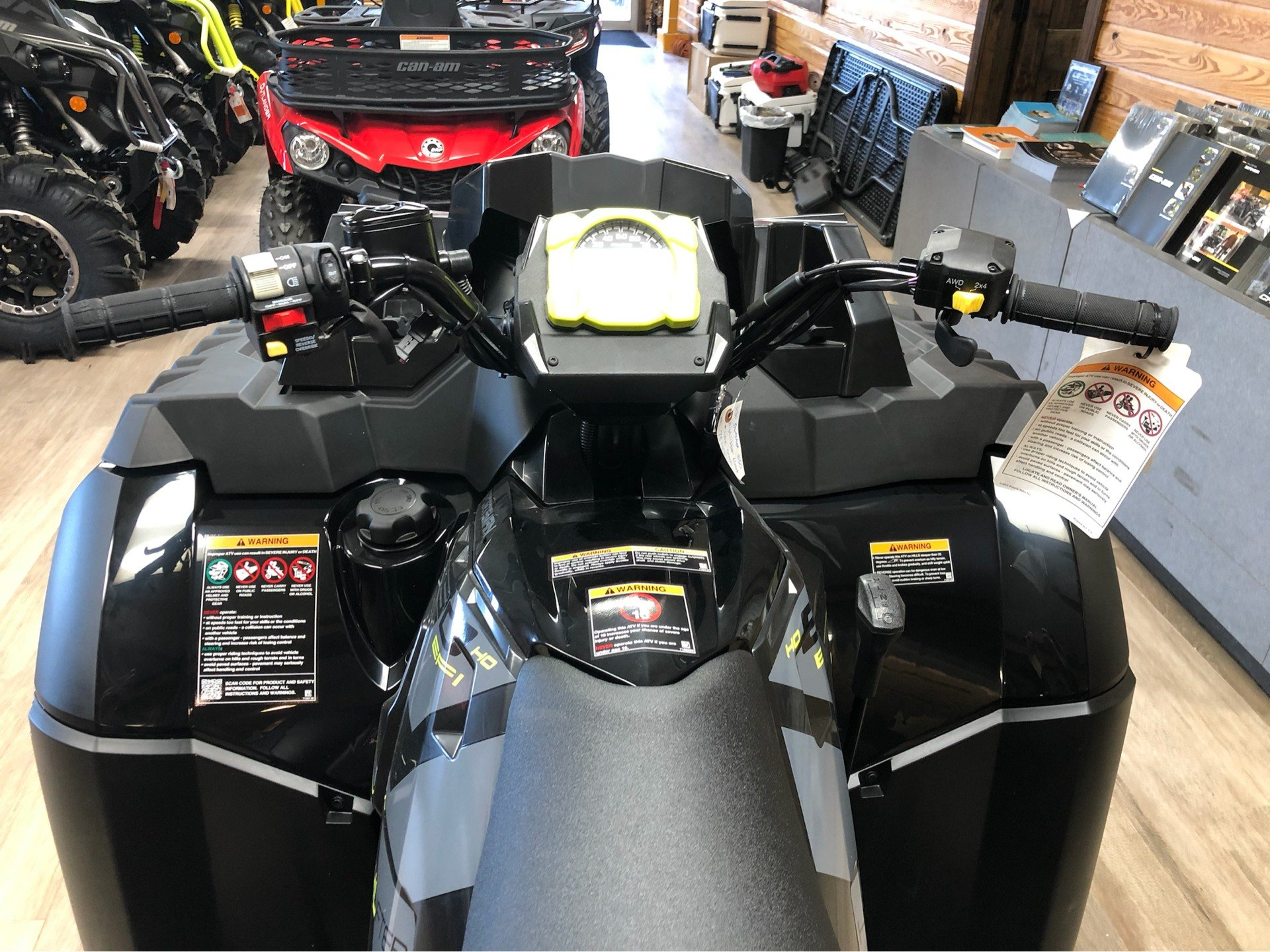 2020 Polaris Sportsman 850 High Lifter Edition in Saucier, Mississippi - Photo 6