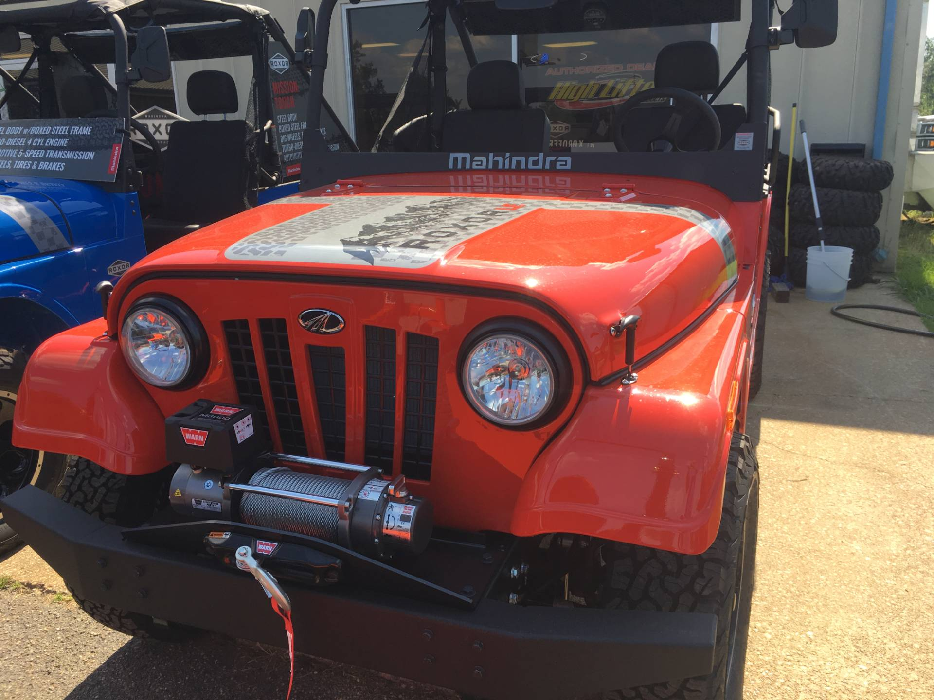 2018 Mahindra Roxor Limited Edition in Saucier, Mississippi