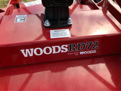 2019 Woods RD72V Finish Mower in Saucier, Mississippi - Photo 2