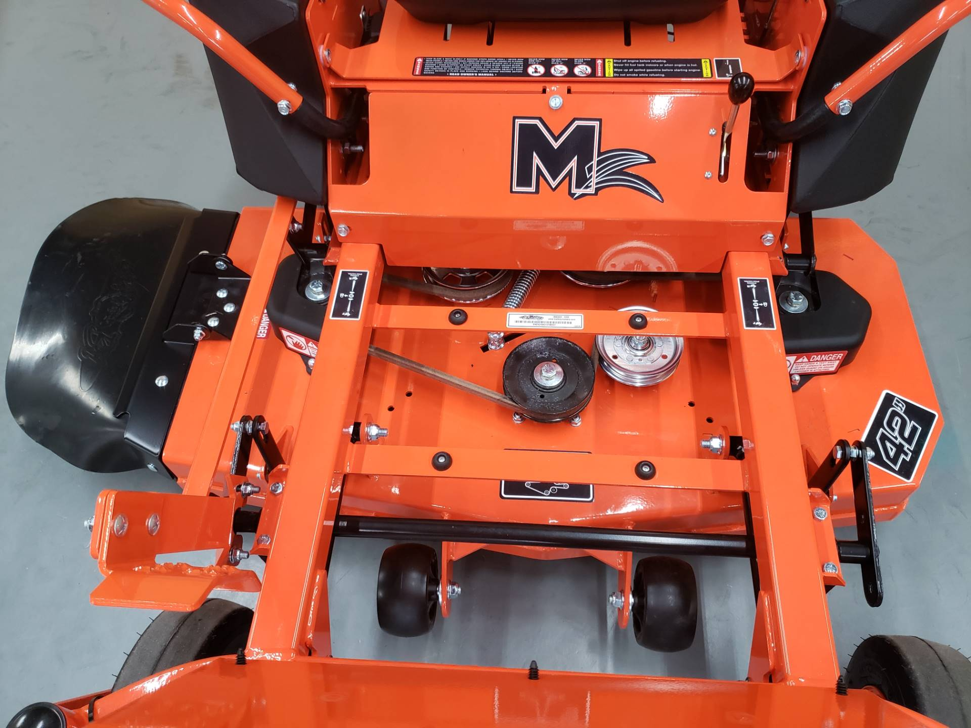 "2019 Bad Boy Mowers MZ 42"" with 19hp Kohler in Saucier, Mississippi - Photo 5"