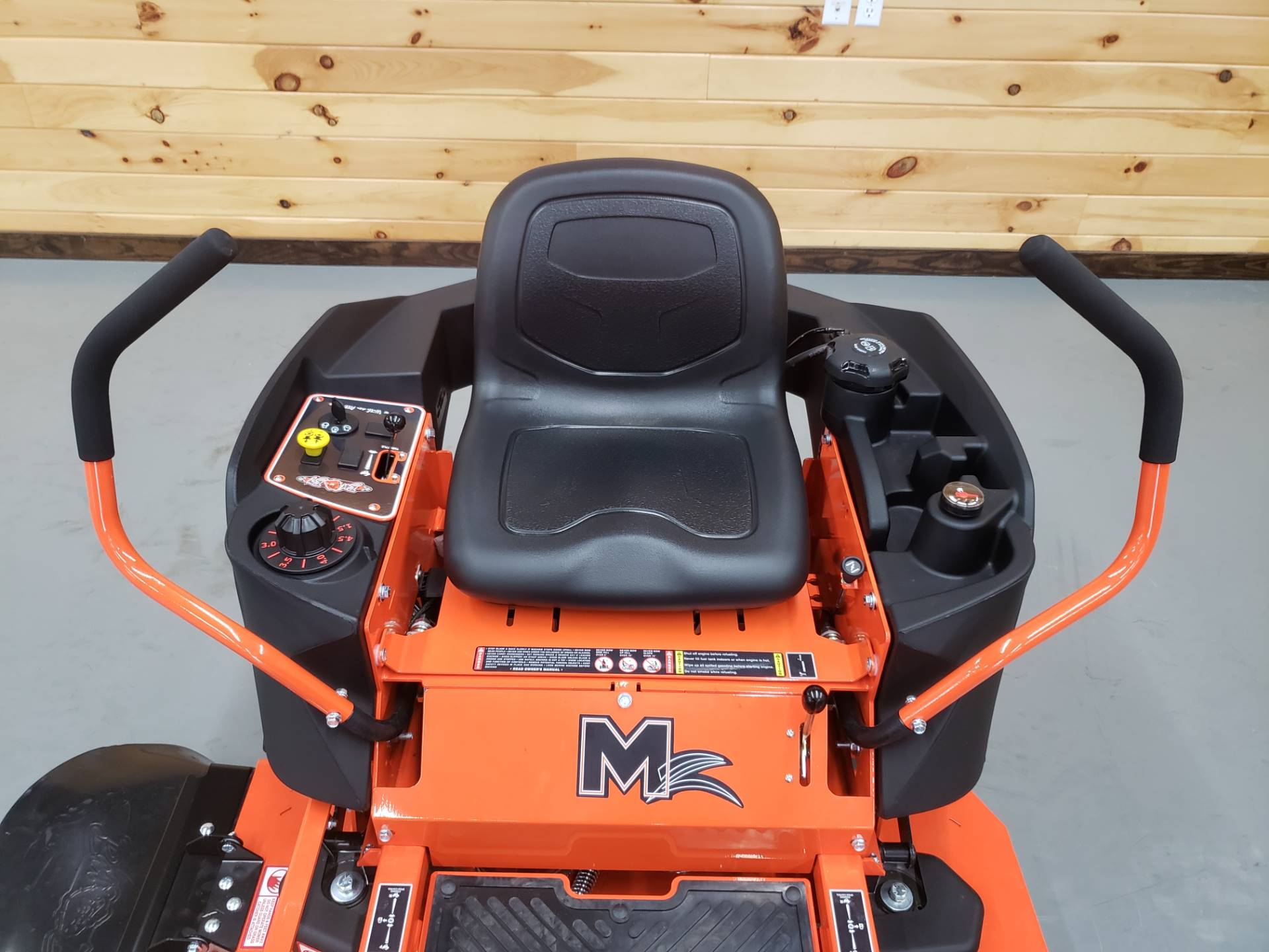"2019 Bad Boy Mowers MZ 42"" with 19hp Kohler in Saucier, Mississippi - Photo 7"