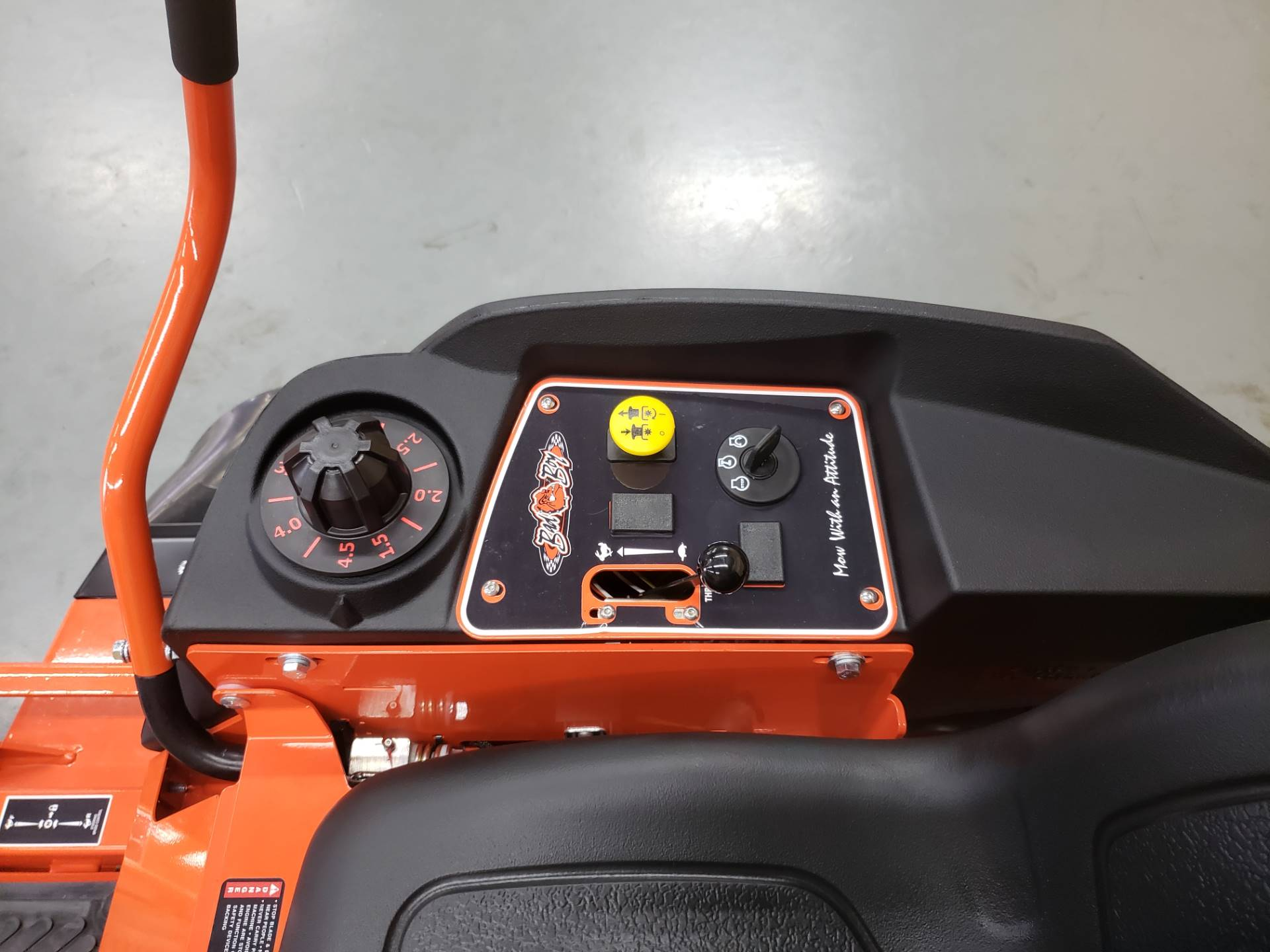 "2019 Bad Boy Mowers MZ 42"" with 19hp Kohler in Saucier, Mississippi - Photo 8"
