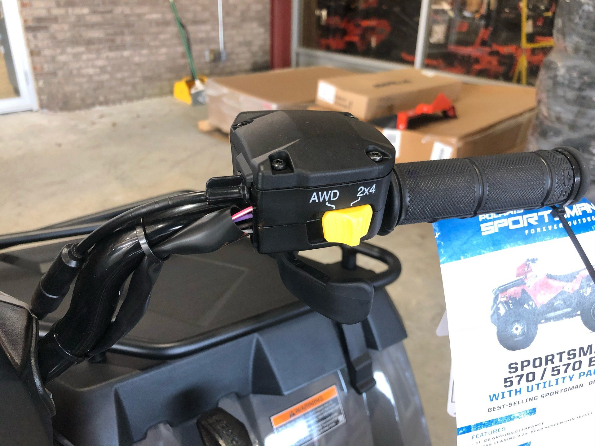 2020 Polaris Sportsman 570 Utility Package in Saucier, Mississippi - Photo 13